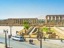 Le site archéologique Image libre de droits