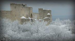 Le site de patrimoine mondial de l'UNESCO Visby.GN Image libre de droits