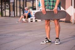 Le Skateboarding n'est pas pour chacun Images stock