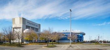 Le SkyVenture et le cinéma dans Laval Image libre de droits