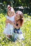 Le små systrar royaltyfri bild