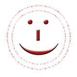 Le smiley Photographie stock libre de droits