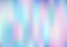 Le smoot abstrait a brouill? le fond olographe de gradient avec l'effet tram? de texture Offre ? la mode de luxe d'hologramme per illustration de vecteur