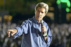Le sénateur John Kerry Photo libre de droits