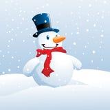 le snowman vektor illustrationer