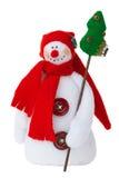 le snowmantoy Fotografering för Bildbyråer