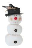 le snowmantoy Arkivfoton
