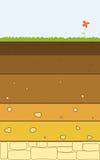 Le sol pose le vecteur illustration stock