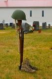 Le soldat inconnu Images libres de droits
