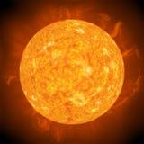 Le soleil éloigné illustration stock