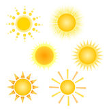 Le soleil illustration libre de droits