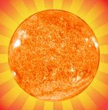 Le soleil illustration de vecteur