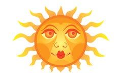 le soleil Image libre de droits