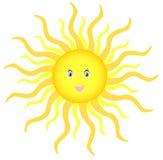 Le soleil brillant Photos libres de droits