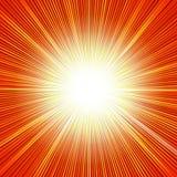 Le soleil brillant Photo stock