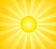 Le soleil chaud illustration libre de droits