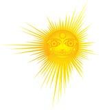 Le soleil chaud Photo stock