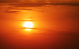 Le soleil d'été Photographie stock libre de droits