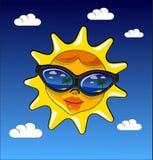 Le soleil d'été Photo libre de droits