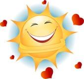 Le soleil d'amusement illustration de vecteur