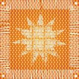 le soleil d'indigène de conception Image stock