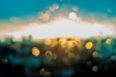 Le soleil d'Unfocuced Photographie stock