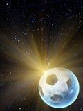 Le soleil de bille de ciel Photo stock