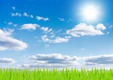 le soleil de ciel de fond Photo stock