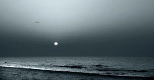 Le soleil de clair de lune Photographie stock libre de droits