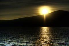 le soleil de configuration Images libres de droits
