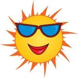 Le soleil de dessin animé illustration de vecteur