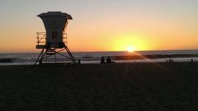 Le soleil de fonte d'été Photographie stock libre de droits