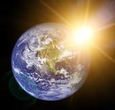 le soleil de la terre illustration libre de droits