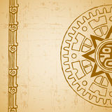 Le soleil de Maya demi illustration libre de droits