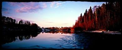 Le soleil de novembre Images stock