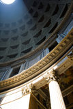 le soleil de Panthéon Photos libres de droits