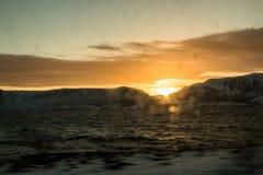 Le soleil de Ramberg Photographie stock