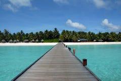 le soleil de route d'île à Photo libre de droits
