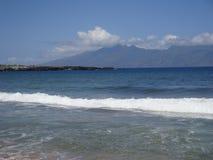 Le soleil et rivage de Maui images stock