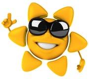 Le soleil heureux Photographie stock libre de droits