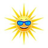 Le soleil heureux d'été Photo libre de droits