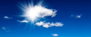 Le soleil lumineux Photographie stock