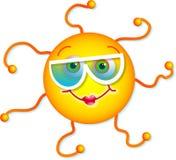 le soleil mignon Photos libres de droits