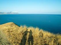 Le soleil moyen d'hiver photo stock