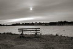 le soleil nuageux Image stock