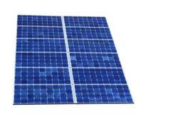 le soleil solaire de pouvoir de cellules Photos stock