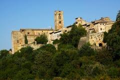 Le soleil toscan Images libres de droits