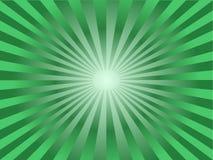 Le soleil vert Image libre de droits