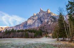 Le sommet de montagne de Tenneverge Photographie stock libre de droits
