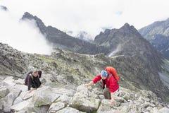 Le sommet le plus élevé de la Pologne Photos stock